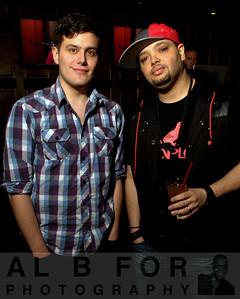 DJ Elivis Suarez and DJ Joe Broscoe