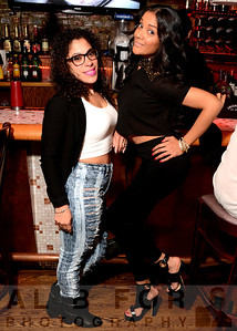 Angie Burgos and Crystal Rodriguez