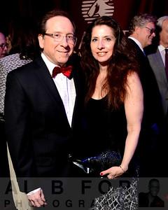 Glenn Schwartz (Chief Meteorologist, NBC10) with Sherry Auerbch