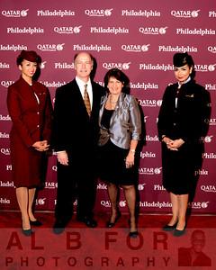 Apr 3, 2014 QATAR Airways at The Ritz for Launch Gala