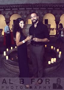 Cristina Luna, Brendan Conlin.  Romanesque Cloister and Fountain