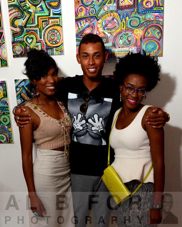 Aug 2, 2013 Alloyius McIlwaine ~ big Abstract~Art showcase, IMMORTA, Skai Blue Media