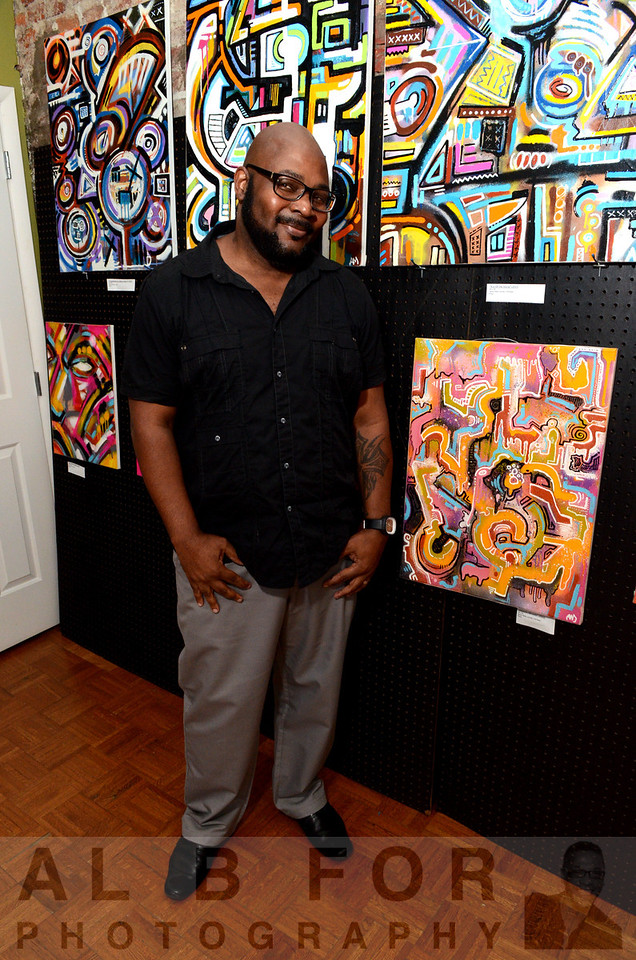 Aug 2, 2013 Alloyius McIlwaine ~ big Abstract~Art showcase, IMMORTA, Skai Blue Media