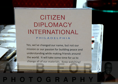 Citizen Diplomacy International~Phila.  Mission/ passion for building peace and understanding while making friends around the world.
