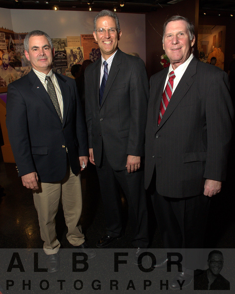 Daniel R. Naylor (Pa Department of Agriculture), George E. Stark (Director, External Affairs, Cabot Oil and Gas Corporation) and Gary Uphouse (S4 Worldwide LLC)