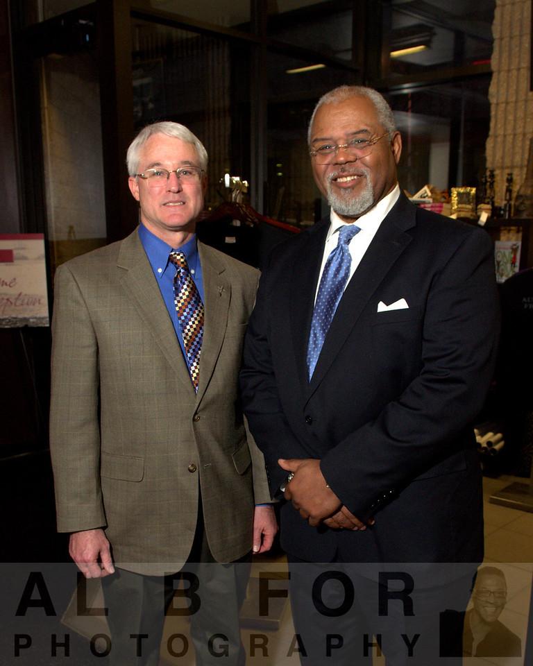 Wade Catts (John Milner Assciates, Inc.) and Ronald Whittington ( The Violette Mazia Foundation, Treasurer, Board of Directors)