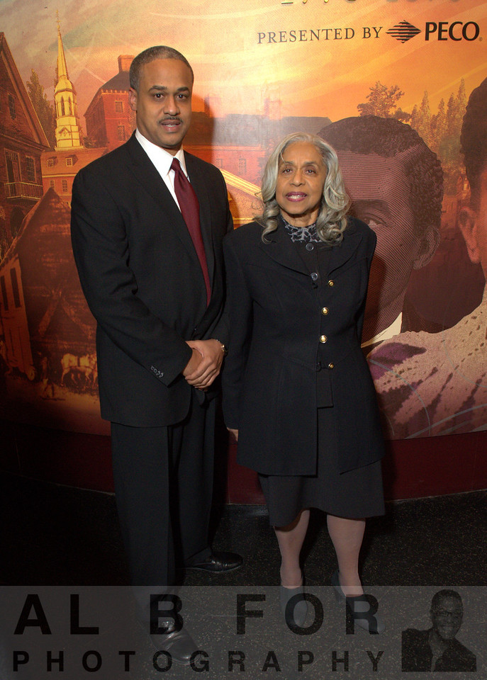Lonnie H. Morre III (Account Executive, Independence Blue Cross) with Edith Dennis Moore Stephen
