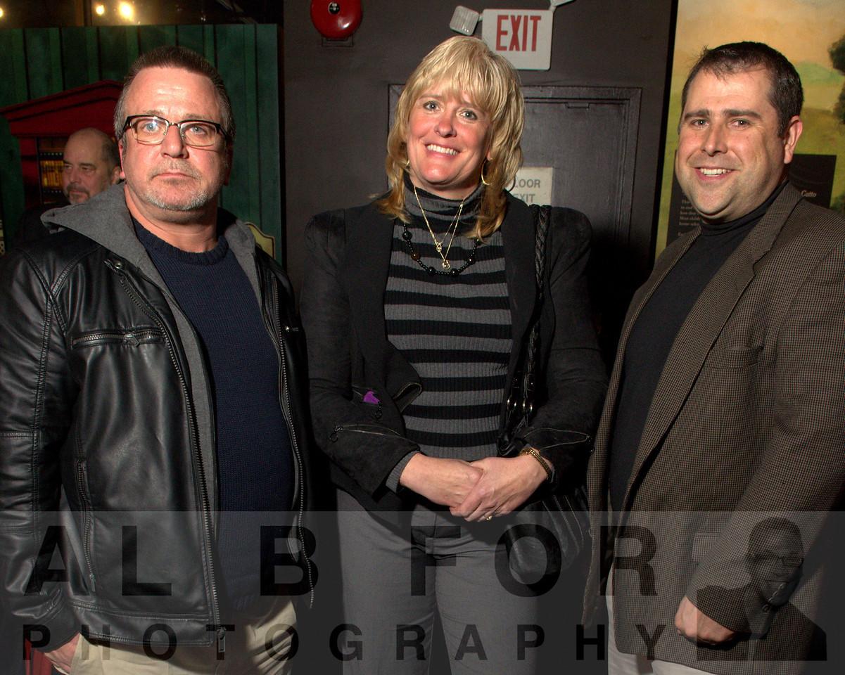 Tim McKinney, Diane Dean and Bill Kelley Jr., (Taylor Rental, BX3 Oilfield Supply)