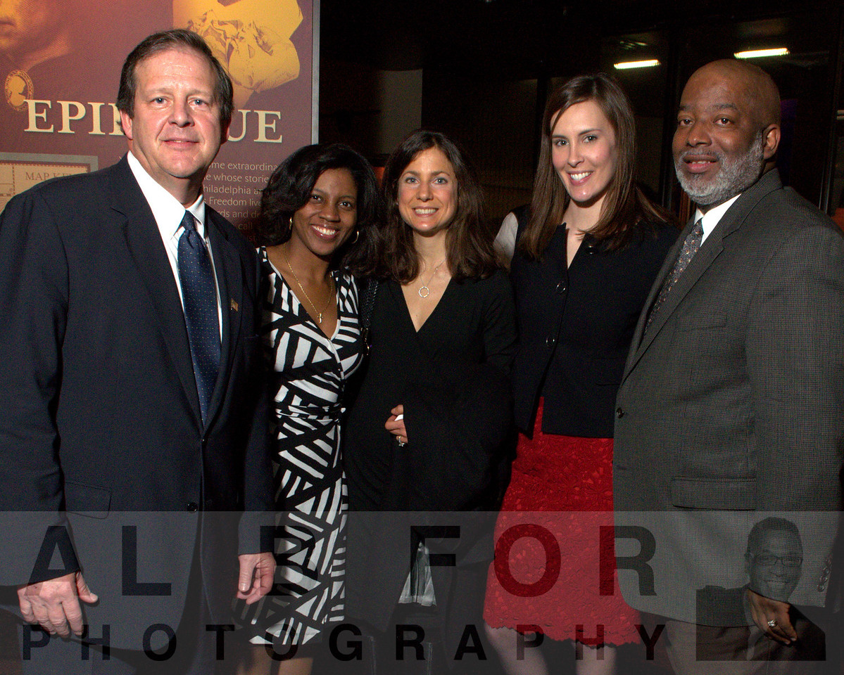 Dave Spigelmyer (President of Marcellus Shale Coalition ), Timika Lane (Candidate Elect for Judge Court of Common Pleas), Michelle Leslie, Amber Benzon and Steven Scott Bradley (President/CEO Bradley and Bradley Associates, Inc.)