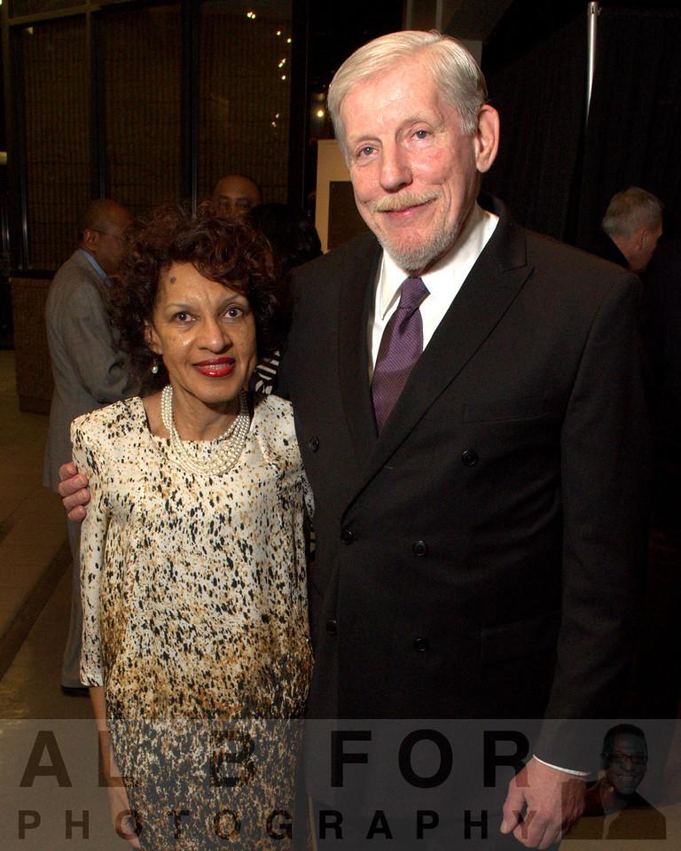 Denise Dennis with Ralph Christianson (President of Brooklyn Pennsylvania Historical Society) Susquehanna County