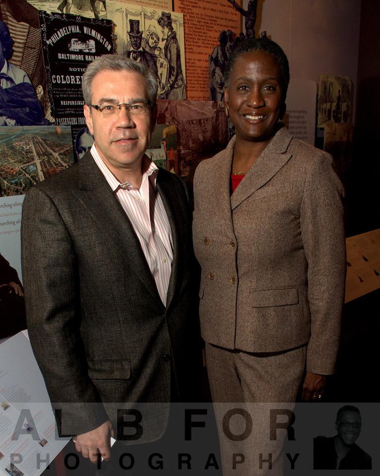 Greg Matusky and Allison Gloria Dorsey (Professor, Department of History, Swarthmore college)