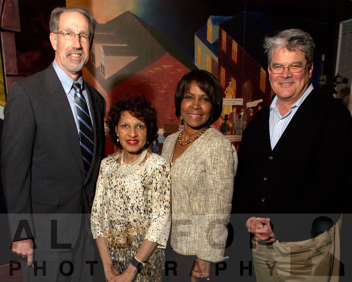 Tom J. Durling (Flaster Greenberg, Attorney At Law), Denise Dennis, Councilwoman Blondell Reynolds Brown and Andrew Maykuth (Business News Writer, The Inquirer)