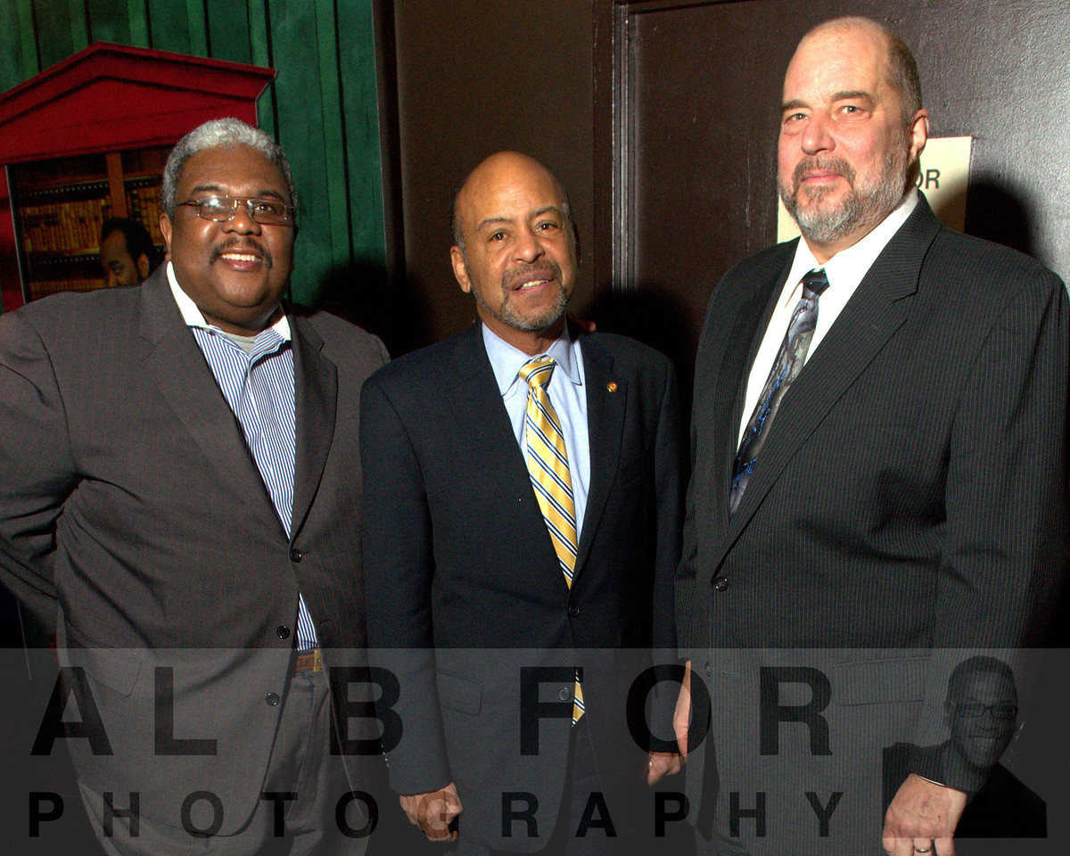 Kenneth C. Lampkin (CEN Tech), James R. Roebuck (Chairman, House Education Committee, House of Representatives, Commonwealth of Pennsylvania) and Doug Moser (PGW)