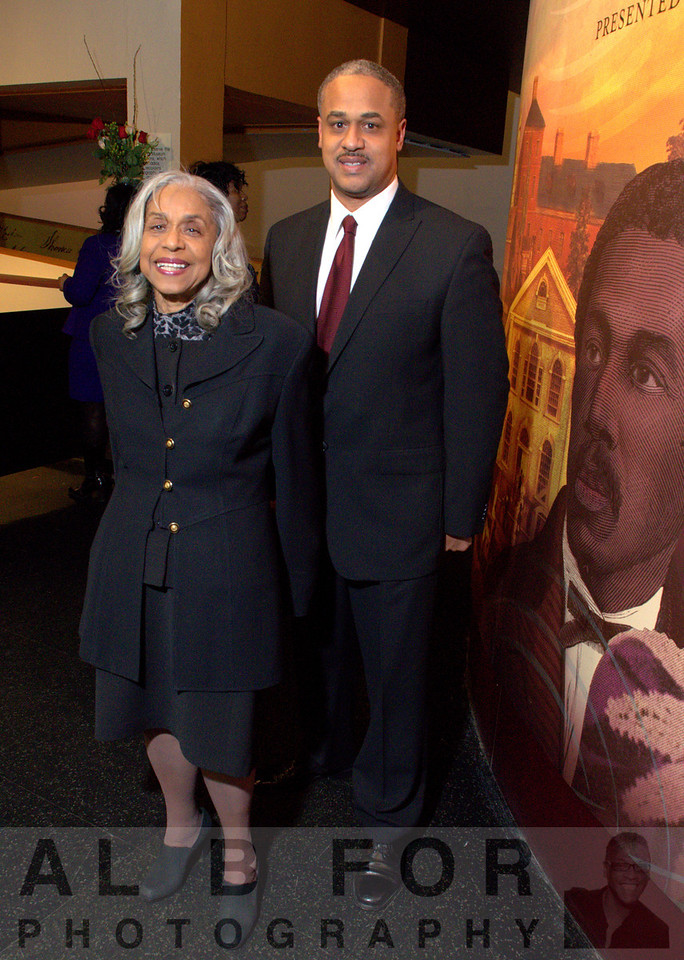 Edith Dennis Moore Stephen with Lonnie H. Morre III (Account Executive, Independence Blue Cross)
