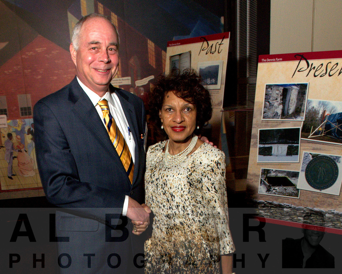 Jeff Keim (Cabot Oil and Gas Corporation) and Denise Dennis