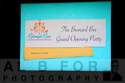 The Bronzed Bee Grand Opening Party
