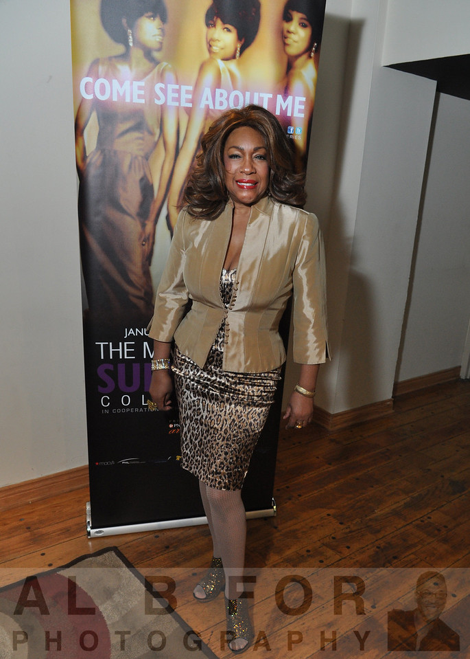 Ms. Mary Wilson. (Member of the legendary SUPREMES)