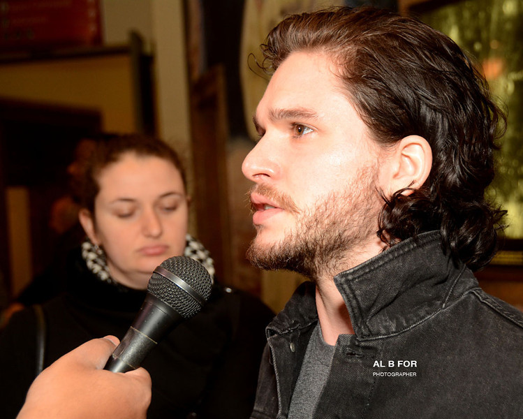 "Jan 27, 2014 Advance Screening of ""Pompeii"" @ The Franklin Institute with Kit Harington and Adewale Akinnuoye-Agbaje appearing live on the Red Carpet"