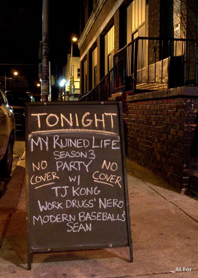 Jan 8, 2013 My Ruined Life Season 3 Party @Underground Arts