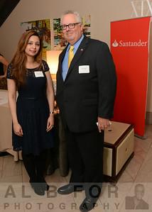 Samar Kan (Santander Bank) and Mark Supple (Santander Bank)
