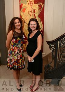 Jane H. Rosenberg (Exe. Dir. British American Business Couincil) and Alanna M. Barry McCloskey (Marketing Coordinator, irishamerican business chamber & network)