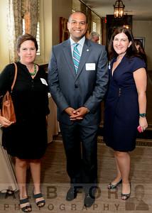 Gwen Cohen (Assoc Dir, Penn State), Damien Ghee (TD Bank, VP, Relationship Mgr) and Kara A. Keenan (Managing Dir, Penn State)
