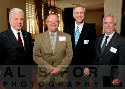 Vincent Finn (Canada, Trade Commissioner), Dino Ramos (Sr. VP Trade Services, World Trade Center, Greater Philadelphia), Richard F. Stipa (CEO, TruMark Financial Credit Union) and Hugh T. Bray (Board of Dir., TruMark Financial, Credit Union)