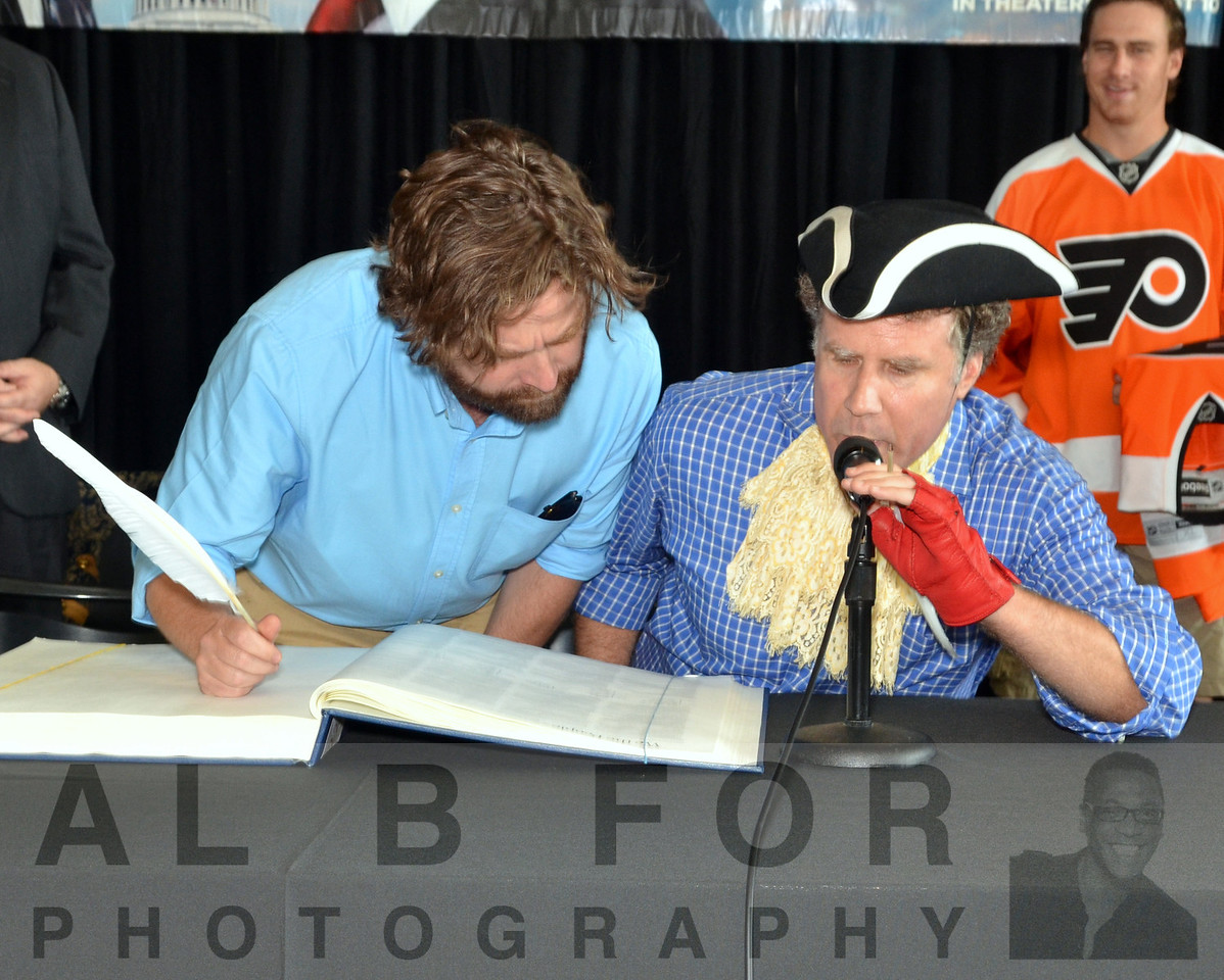 Will Ferrell & Zach Galifianakis reviews the Commemorative 225th Anniversary Constitution.