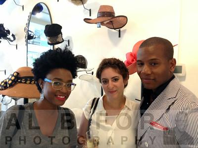 Rakia Reynolds (Skai Blue Media), Nicole Paloux, Sabir