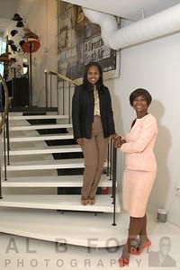 Prescella Brown and Karen Dale
