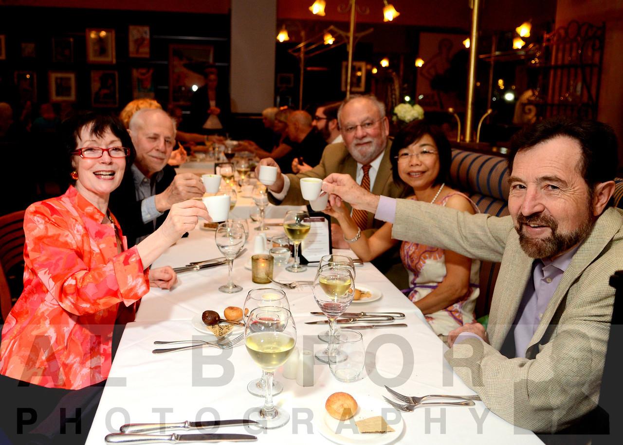 Daniele Thomas-Easton (France), Bernard Guet (Vice Conseiller Culinaire, Chaine Rotisseurs), Hoi Ming (Hong Kong), Edwin Eston and David Winikur