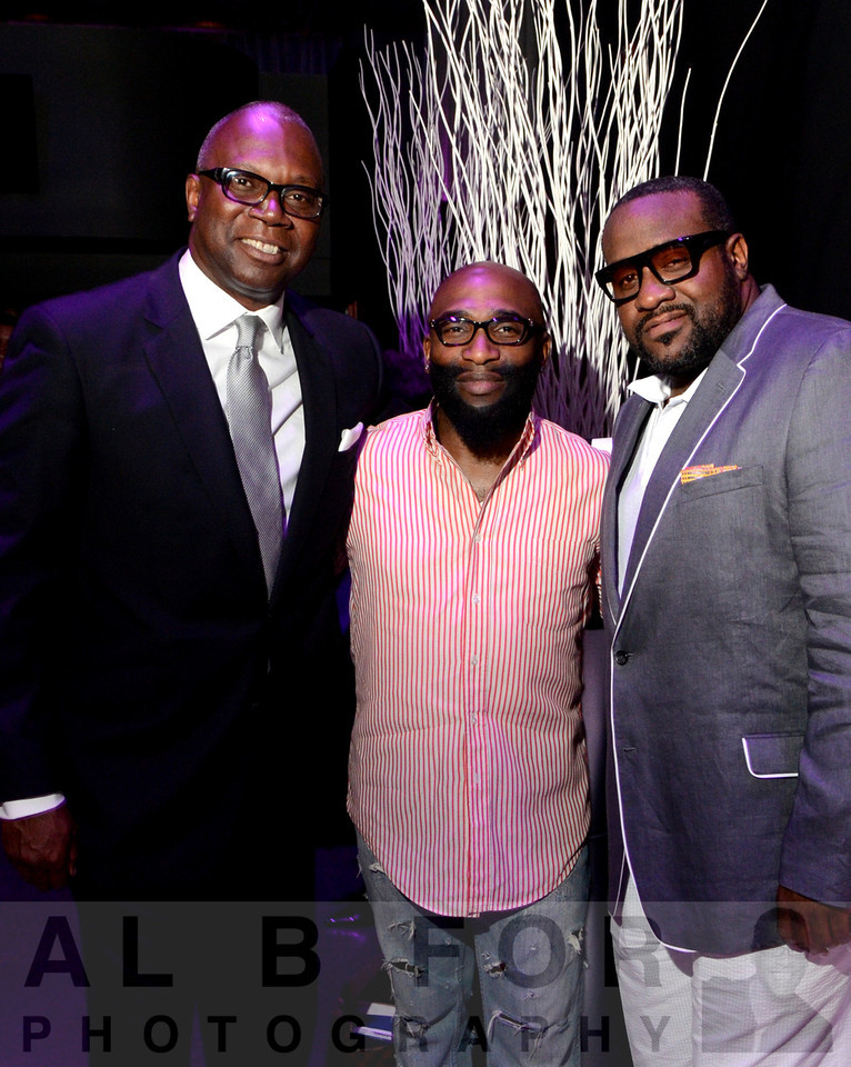 Donald Welch, Anthony Henderson and Jeff Bradshaw