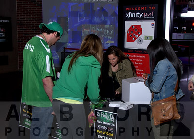 Mar 12, 2016 St. Paddy's Day Party  @ xfinity Live!