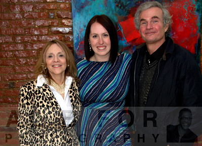 Mar 28, 2015 Bazemore Gallery opening reception~Sandi Neiman Lovitz