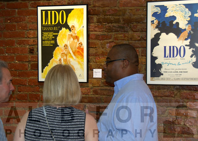 May 9, 2015 The Bazemore Gallery-Vintage French Poster exhibition