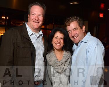Chris Gain, Amy Sweeney and Tony Sweeney