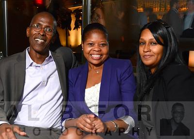 Abdullah Abshir, Simone McBean and Shakia Harris