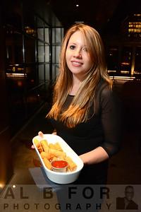 Cheese steak eggrolls (Server Angel Kennedy)