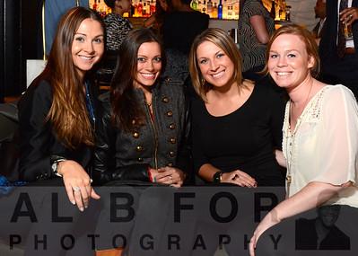 Nikoletta Fotiadis, Lisa Payton, Meagan Kearney and Betsy Shoustal