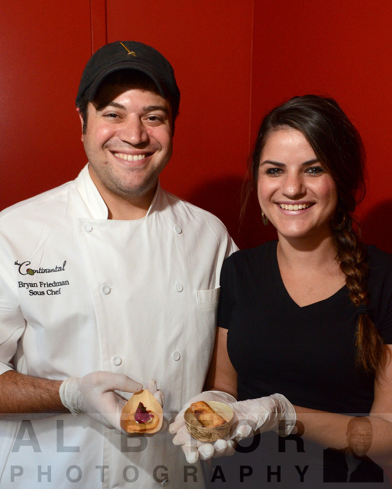Continental staff: Bryan Friedman and Michaeleena Cosgrove