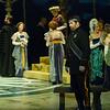 Act I, Scene 1.  Alex Richardson as Amleto (Hamlet).