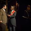 Act III, Scene 2.  Javier Gonzalez as Laerte.