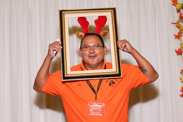 Orange Elks / Eli House Thanksgiving Dinner 11/23/13 Photo Booth Elks & Volunteers Individual Pictures