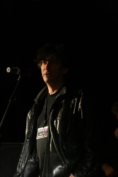 Neil Gaiman introduces Mitch Benn