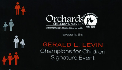 Orchards Children's Services, Signature Event, May 4, 2013