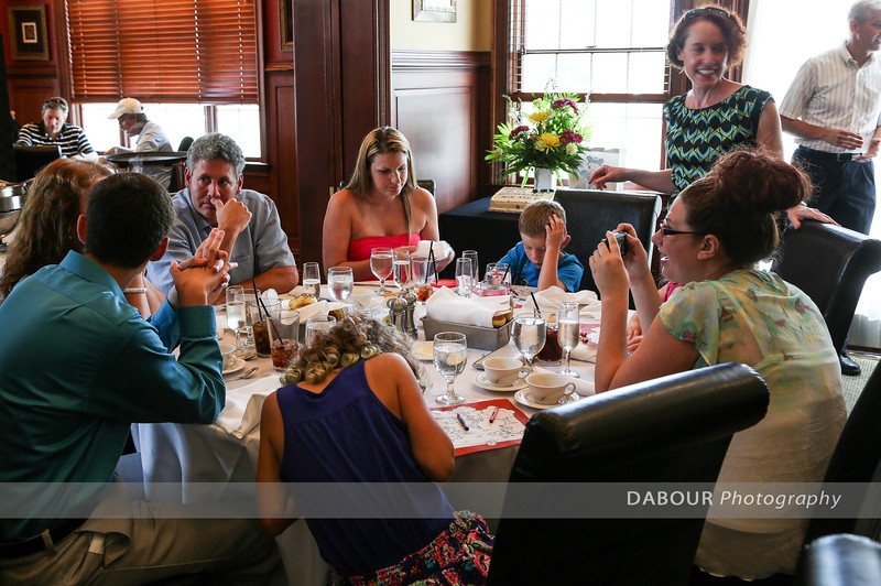Photos of Orem's 50th Wedding Anniversary luncheon at the Vintage restaurant on July 14, 2013