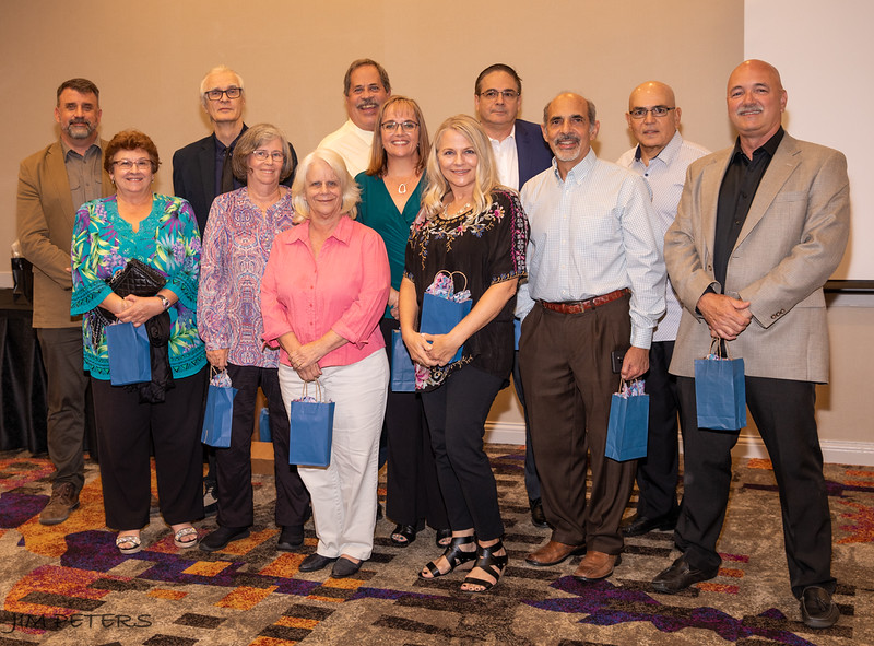 Board of Directors, Orlando Camera Club along with guest speaker Frank Ruggles