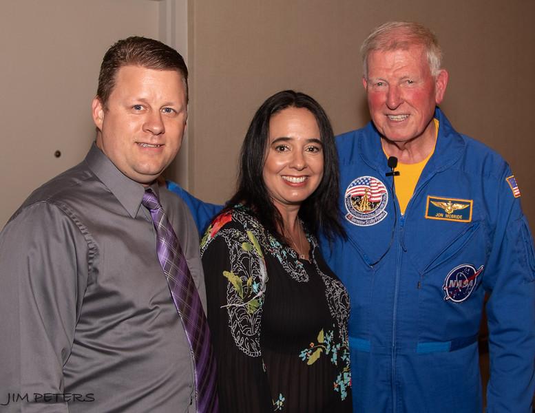 Photo Ops with Astronaut Jon McBride