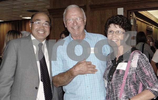 Emile Li, Tom Stumf and Vicki Stumf.
