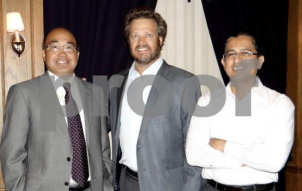 The Doctors: Emile Li, Mark Paut, and Gautam Kakade.